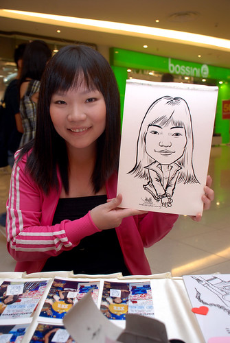 Caricature live sketching for The Cocoa Trees - Part 2 - 1