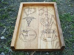 Life Catagory Rune Board (dragonoak) Tags: nordic celtic viking runes futhark asatru diviniation castingboard