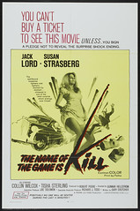 The Name of the Game is Kill (terr-bo) Tags: film movie 1968 thriller jacklord susanstrasberg tcjones collinwilcox mortmills tishasterling marcdesmond gunnarhellstrm