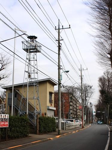 柳窪新田の火の見櫓