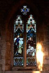 North aisle window, All Saints - West Haddon