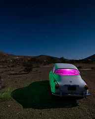Stargazing Saab (TakenPictures) Tags: auto california ca old lon