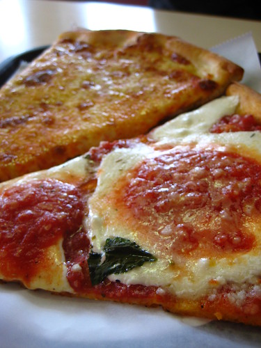 Regular and Marinara Slice