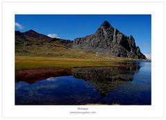 El Anayet (Jess Gabn) Tags: blue espaa mountains azul reflections spain reflejos montaas jessgabn