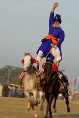 Walk the Walk (gurbir singh brar) Tags: legendary sikh punjab 2009 equestrian khalsa horseman ruralolympics brar gurbir nihang kilaraipur maghar gurbirsinghbrar magharsingh gurbirsingh