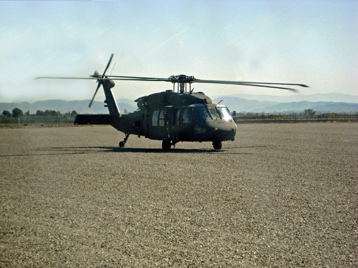 Blackhawk at Salerno