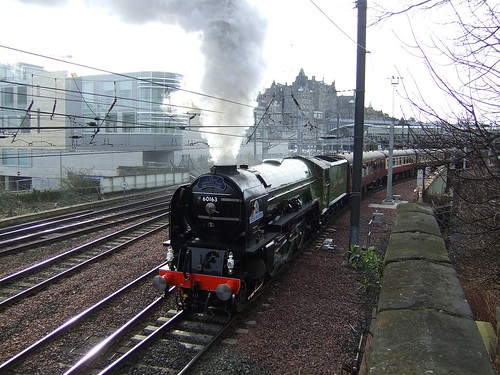 Tornado departs Edinburgh 6