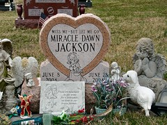 Miss Me - But Let Me Go (cindy47452) Tags: baby abandoned grave sad miracle indiana salem preemie premature washingtoncounty crownhillcemetery miracledawnjackson