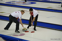 Tim Hortons Brier (Nancy Hawkins) Tags: calgary newfoundland saddledome explore alberta curling brier