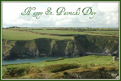 Happy St. Patrick's Day ~ (**Mary**) Tags: ireland irish green heritage history wonder coast europe shoreline eire shore coastline europeanunion irishhistory picnik stpatricksday irishheritage cowaterford irishmoments theemeraldisle coastroadtowaterford
