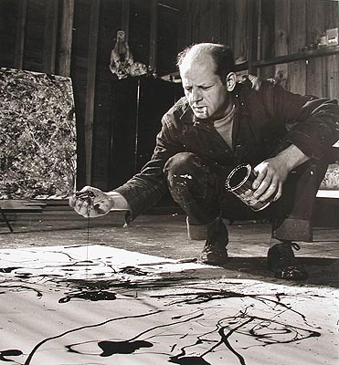 Jackson Pollock Modern Abstract Painting