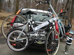 Zigo Cycle on bike rack (zigoinc) Tags: baby sports stroller trailer fitness zigo bakfeits carrierbicycle