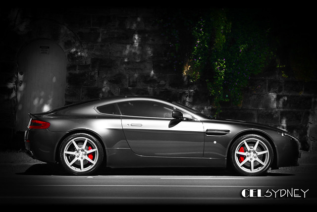 street bw white black colour car am sydney australia cel exotic british v8 ae astonmartin vantage selective carspotting amv8 celsydney