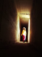 Bomb Shelters Patrol #1 (Miro42) Tags: old pink light abandoned yellow kids fun hope israel fuji miro bombshelter kibutz shir patrols abigfave  top20israel moodcreations miro42  miroflickrphotos miro42photos copyrightmiro42allrightsreserved