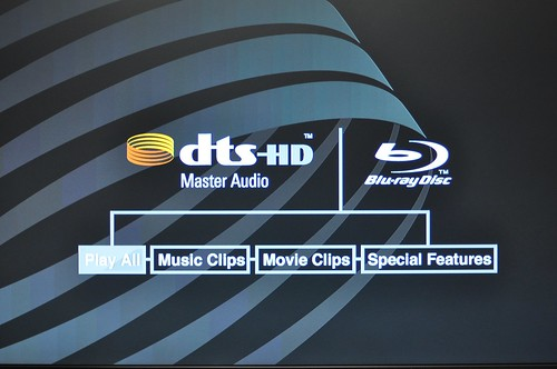 Dts-hd test disc