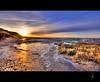 Morsum (schoebs) Tags: cliff beach water canon island eos sundown mud sigma ambient 1020mm sylt hdr borders morsum 40d schoebs
