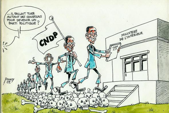Le CNDP se transforme en parti politique