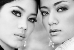 (~Idan) Tags: bw beautiful female models most malaysian idan dilla the eyza