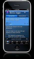 reQall Pro iphone memory jogger