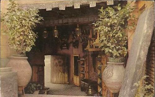 Pasadizo de Balaguer de Toledoen los años sesenta
