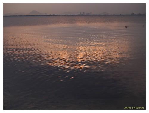 Morning of the Lake Biwa 090327 #02