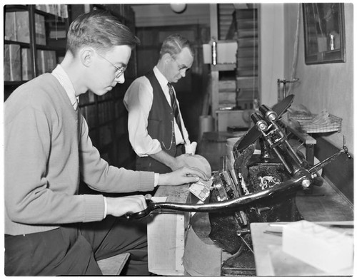 PE - Printing Press MTA_1039 by Metro Transportation Library and Archive.
