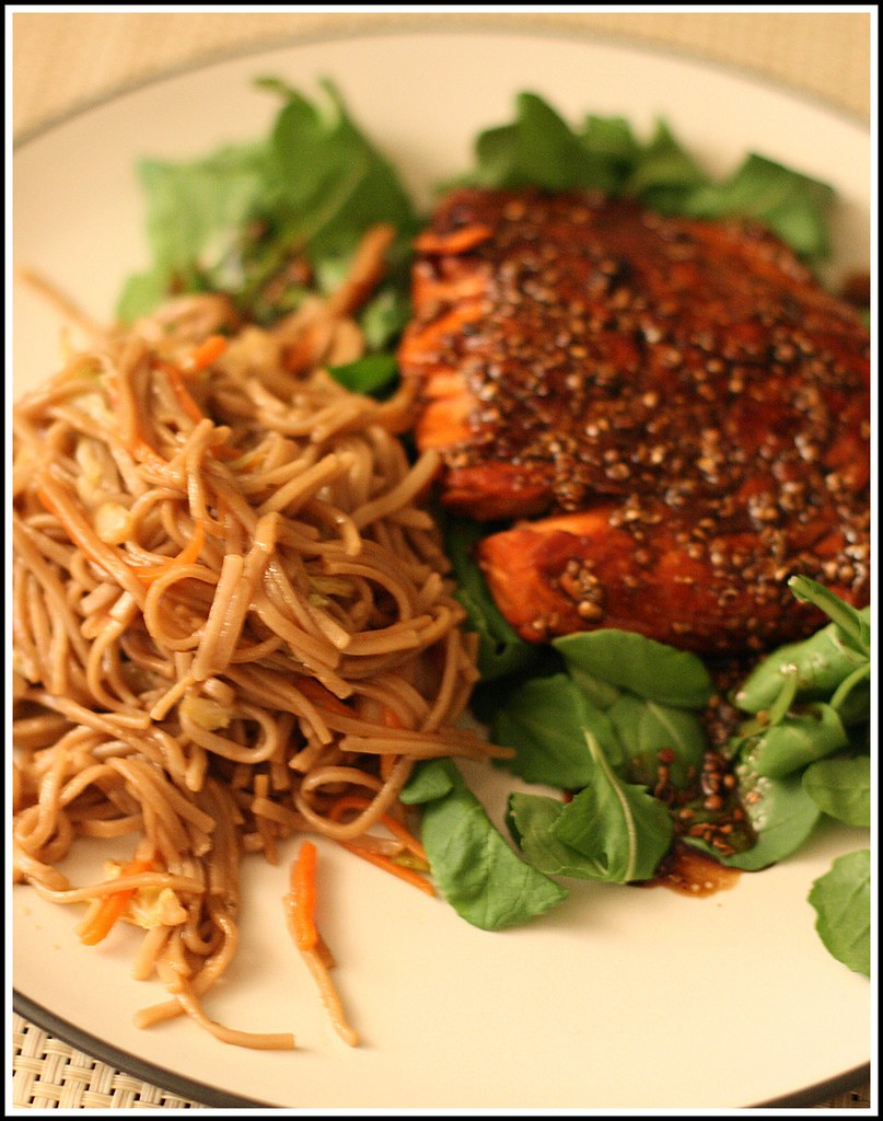 Honey Coriander Salmon