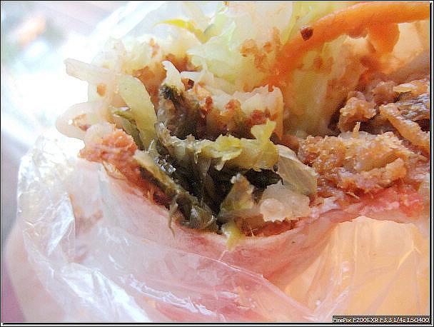 一心蔥油餅+劉家大潤餅