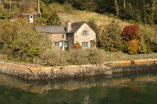 Cottage at King Harry Ferry, River Fal