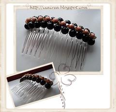Pettinino (CiaCrea) Tags: swarovski capelli comunione accessori