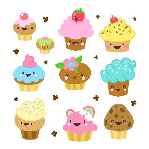 Cute Cupcakes Pictures Cute Cartoon Cupcakes