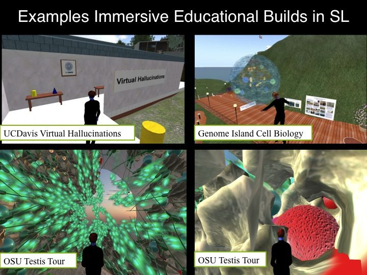 Example: Immersive Educational Builds in Second Life