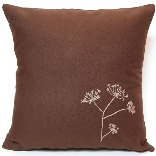 Queen Anne's Lace Pillow