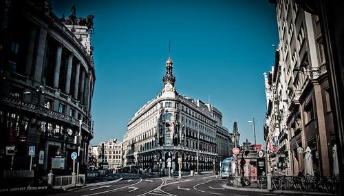Steets of Madrid