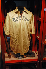 Uniform of Candy LaChance (rbglasson) Tags: museum nikon baseball connecticut waterbury d40 mattatuck nikond40