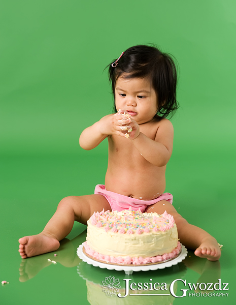 1 Year Old Birthday Cake