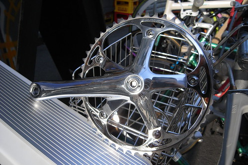 super polished crank & chainring