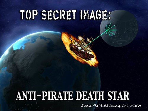 pirate, death star