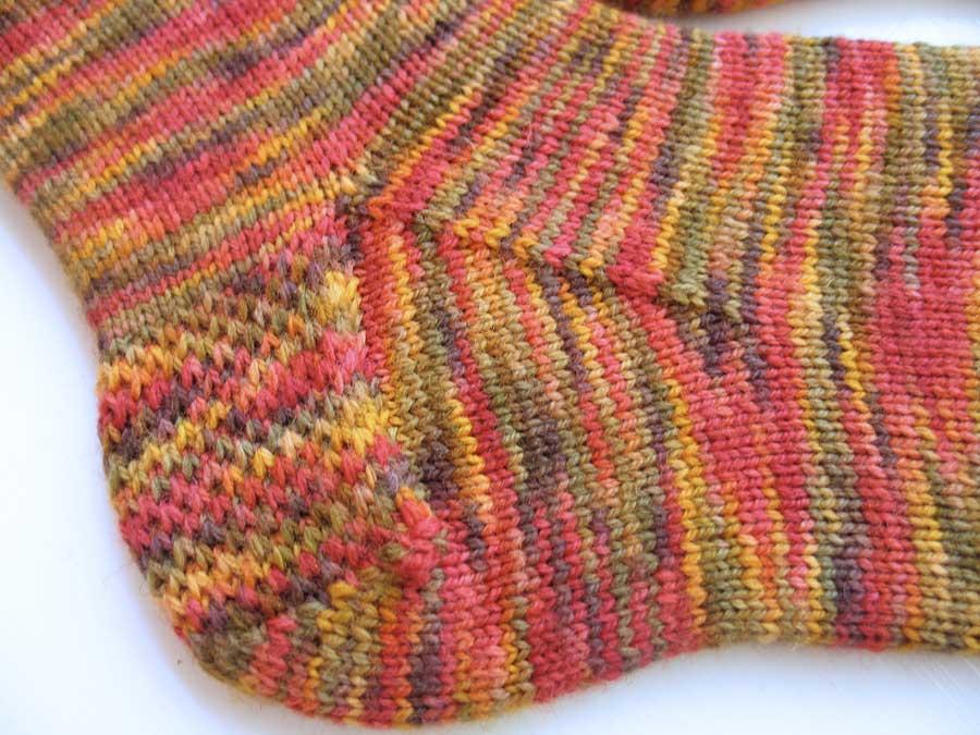 rastaflauge socks heel