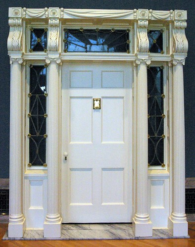 Doorway from the Isaac Gillet House by Jonathan Goldsmith