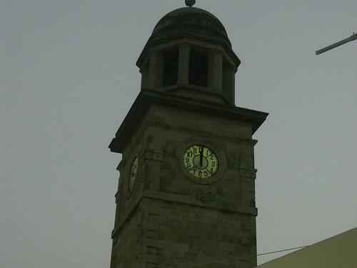 municipal gardens clock hania chania