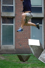 who said white men cant jump? (Johnny Heger) Tags: college campus illinois spring universityofillinois urbana champaign uofi chipsi