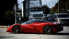 Pininfirina Ferrari P4/5 (j.hietter) Tags: california red car monterey italian gallery european jim ferrari whole exotic finished supercar p5 p4 wholecar p45 pininfirina glickenhouse