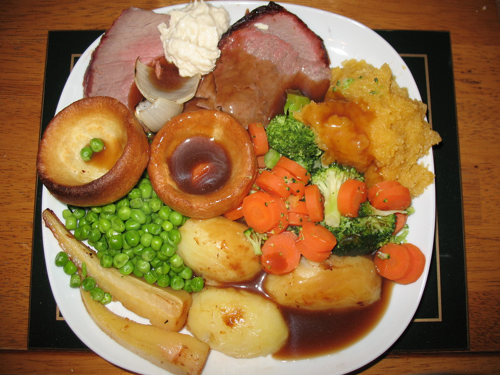 Sunday Lunch -Roast Beef 3rd May 2009