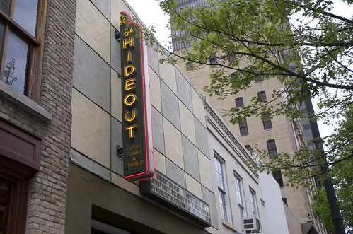The Hideout exterior