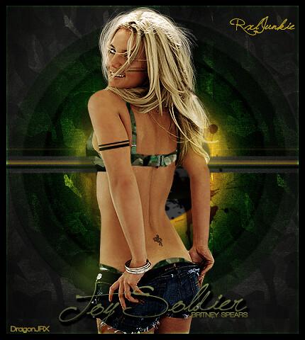 Toy Soldier :.: Britney Spears :.: DragonJXR :.: