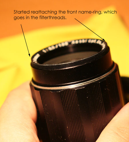 Fixing the Super-Takumar 135mm, image 3
