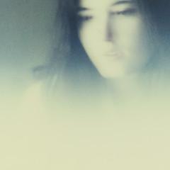 sofia's ghost (detail) (equivoque23) Tags: polaroid sx70 ghost timezero accidentswillhappen equivoque withoutborders elinorscottsutter equivoquephoto gardenoftheordinary wwwequivoquephotocom