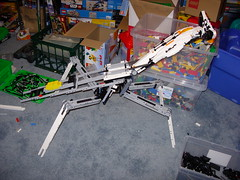 Mantis Frame Weight Test (Doctor Mobius) Tags: bug mantis lego mech moc battlebug