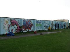 Painting Portishead in the Pissdown (feekster) Tags: cheo soker ponk epoch feek flx ziml 3dom sepr
